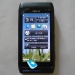 Black Nokia N8 front view