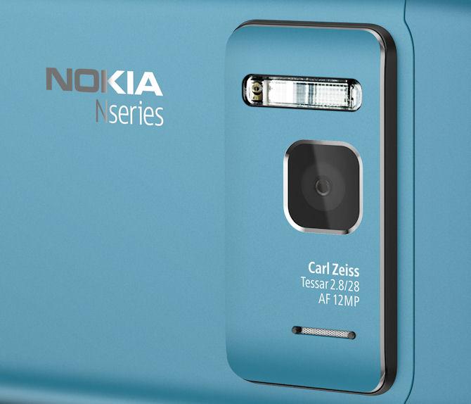 Nokia N8 camera