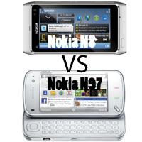 Nokia N8 vs Nokia N97