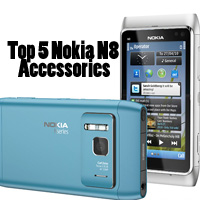 Top 5 Nokia N8 Accessories