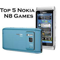 Top 5 Nokia N8 Games