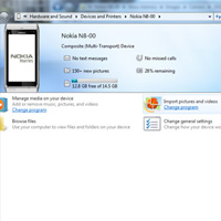 How to transfer photograph's on Nokia N8