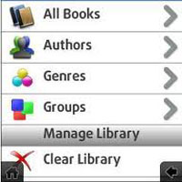 Foliant ebook reader for Nokia N8