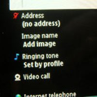 Nokia N8 how to add photographs to contacts