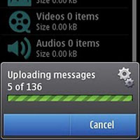 Rseven backup service for Nokia N8