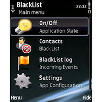 Blacklist Mobile for Nokia N8