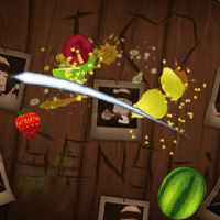 Fruit Ninja for the Nokia N8