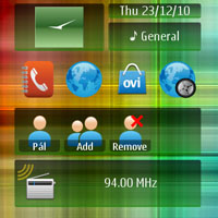 Hue Nokia N8 Theme thumb