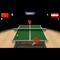 Virtual Table Tennis for Nokia N8