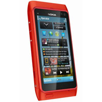 New limited edition Nokia N8 in red